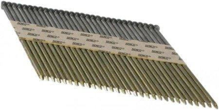 Gwoździe taśmowe łączone papierem 34°/ ø 3,3 100mm gładkie galwanizowane